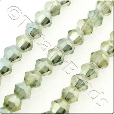 Crystal Bicone 4mm - Olive Garden