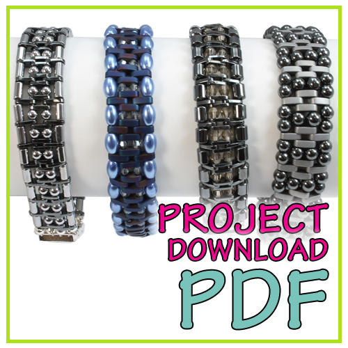 2 Hole Spacer Bracelet Download Instructions