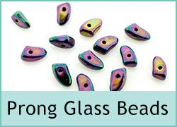 Prong Glass Bead