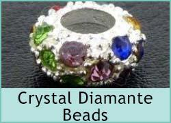 Crystal Diamante Spacers