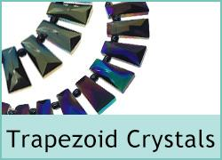 Trapezoid Crystal Beads