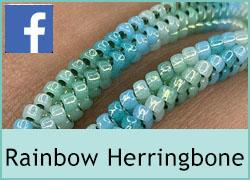 Rainbow Herringbone Jewellery - 31st May
