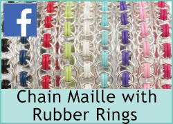 Chain Maille with Rubber Rings - 28th July
