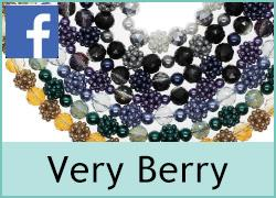 Very Berry with Crystals and Pearls - 10th September