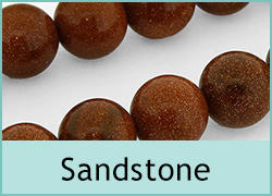 Sandstone Glass Beads