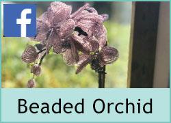 Beaded Orchid - 5th February