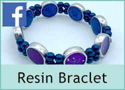 Multi Row Bracelet - Resin Enhanced - 27th February