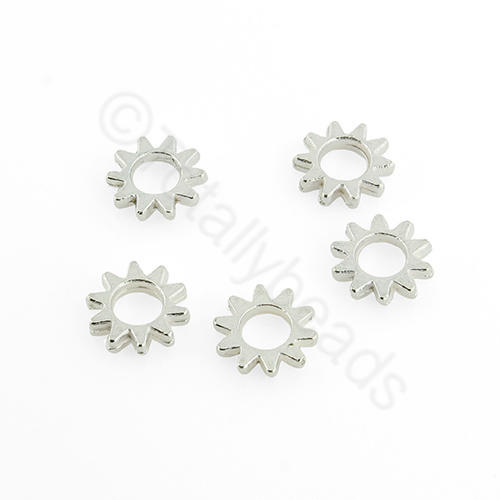 Silver Spacer - 7mm - Cog