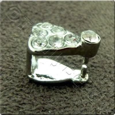 Diamante Bail - 8 x 5mm