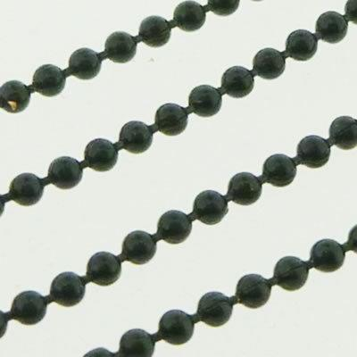 Ball Chain 1.5mm - Black - 1m