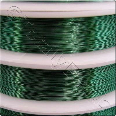 Beading Wire - Green 0.8mm (5m)