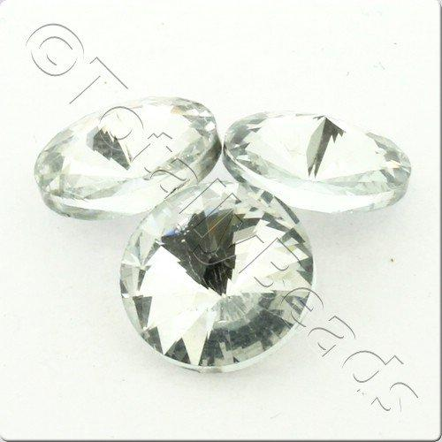 Crystal Rivoli - 14mm Silver
