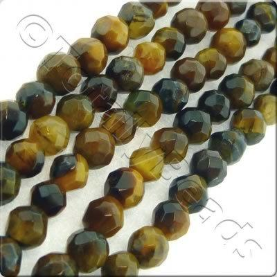 Tiger Eye 3mm Facet Round