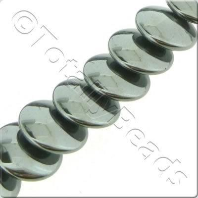 Hematite - Overlap Disc 8mm
