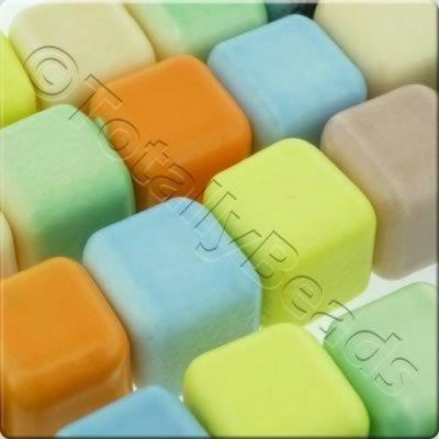 Ceramic Cubes 12mm - Mix 6