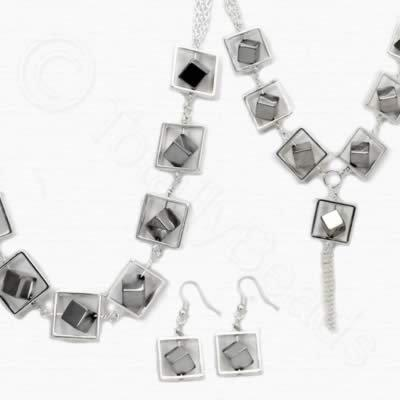 Sadie Necklace Kit - Silver Plated