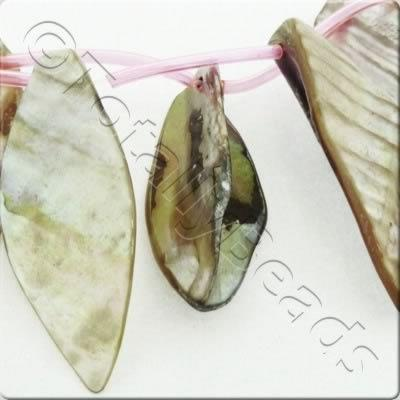 Shell Leaves 45mm - Natural