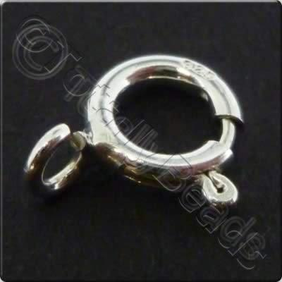 Sterling Silver - Bolt Ring 6mm