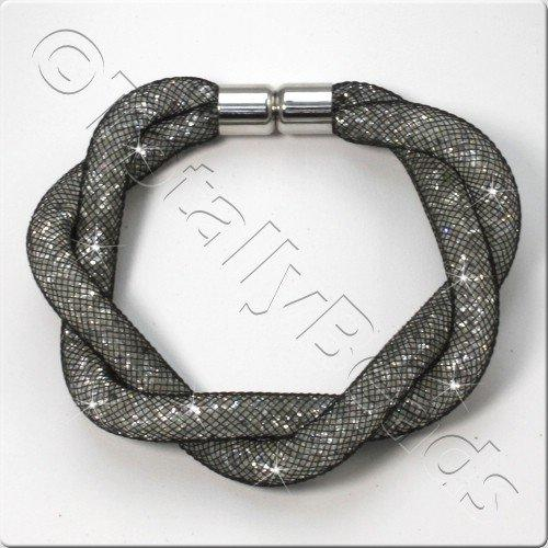 Sparkle Mesh Bracelet Kit - Crystal