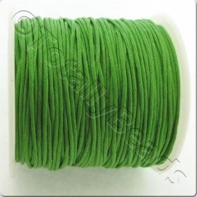 Wax Cotton Cord 1mm - Green