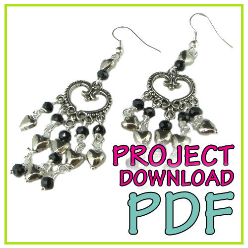 Heart Chandelier Earring Instruction Download
