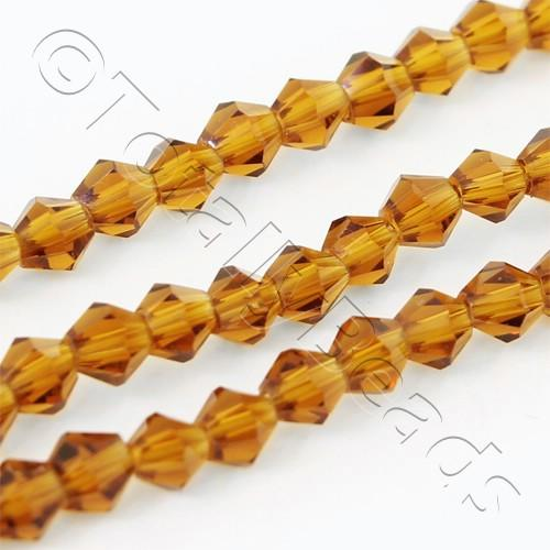 Crystal Bicone 3mm - Brown