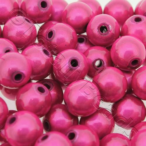 Miracle Beads - 10mm Round Fuchsia