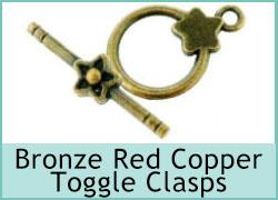 Bronze Red Copper Toggle