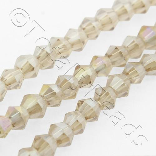 Crystal Bicone 2.5mm - Champagne AB