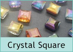 Crystal Square Beads