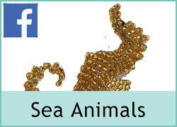Beaded Sea Animals - 23rd August