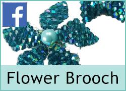Flower Brooch - 30th August