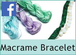 Macrame bracelet - 25th October