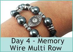 Day 4 - Memory Wire Multi Row