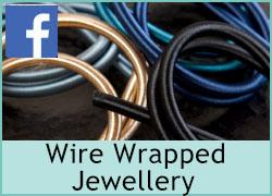 Wire Wrapping with Satin Cord - 1st February