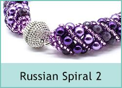Russian Spiral 2 Necklace and Bracelet