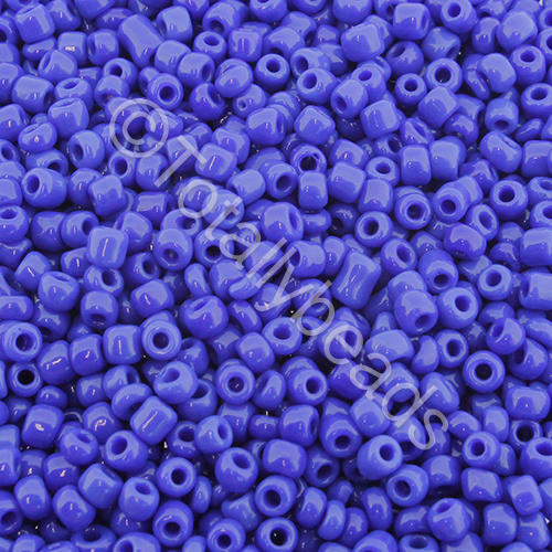 Seed Beads Opaque  Dark Blue - Size 8