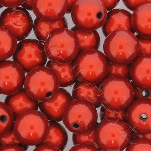 Miracle Beads - 12mm Round Red