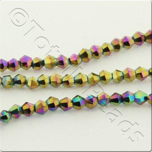 Crystal Bicone 2.5mm - Rainbow