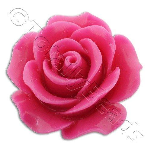 Acrylic Rose 25mm 1 Row - Pink