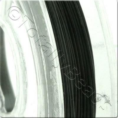 Elastic Flat Black - 0.5mm - 65m
