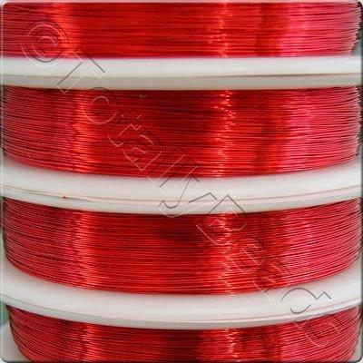 Beading Wire - Red 0.6mm (7m)