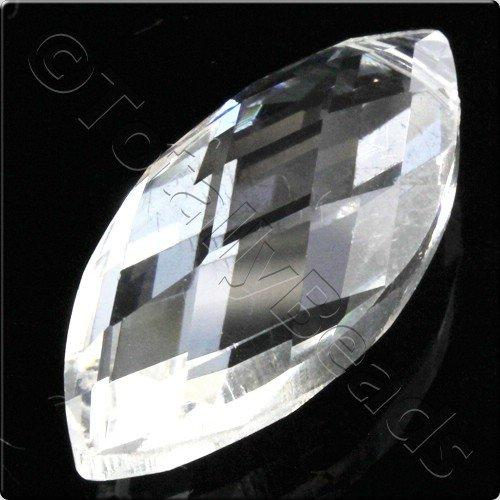 Crystal Eye Bead 32mm - Crystal