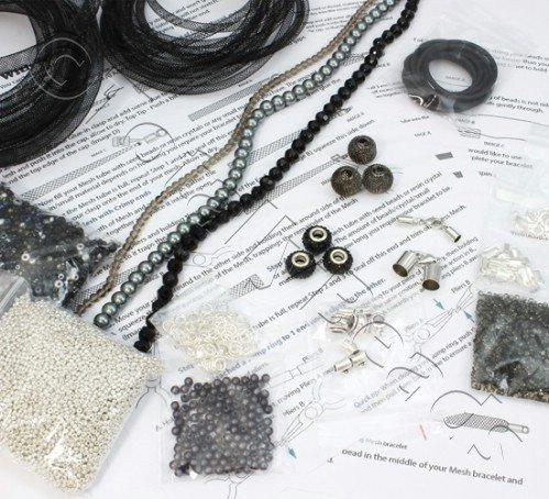 Mesh Starter Kit - SIlver/Black plus MESH