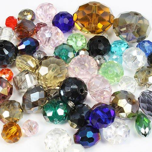 100g Premium Crystal Bead Mix