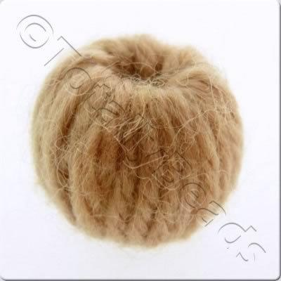 Wool Bead 22mm - Cinnamon