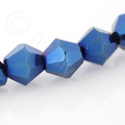 Crystal Bicone 4mm - Blue Iris