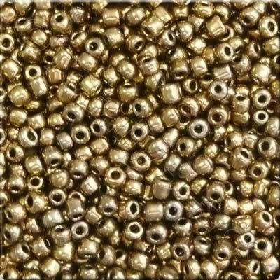 Seed Beads Antique Gold - Size 11