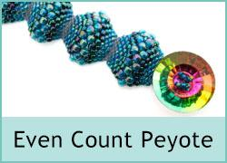 Even Count Peyote Bracelet