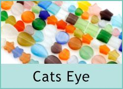 Cat's Eye Glass Beads